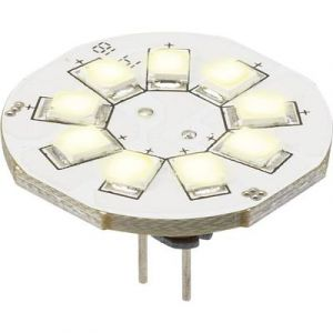 Sygonix Ampoule LED G4 LN-04-9ES-B-30D-WW-00 à broches 1.5 W = 10 W blanc chaud (Ø x L) 23 mm x 17 mm EEC: A 1 pc(s)