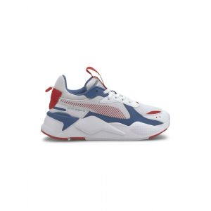 Puma Chaussure Basket RS-X Joy Youth pour Enfant, Blanc/Rouge, Taille 36