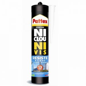 Pattex Ni Clou Ni Vis - Colle résiste à l'eau 300ml