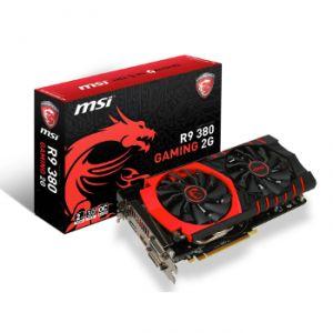 MSI R9 380 GAMING 2G - Carte graphique Radeon R9 380 2 Go GDDR5 PCI-E 3.0