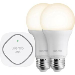 Belkin Ampoule intelligente LED WeMo - Kit de démarrage