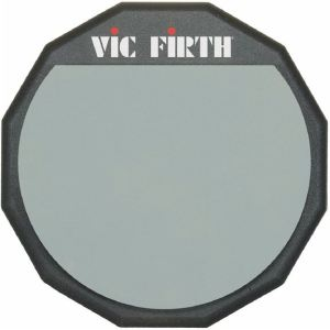 Vic Firth PAD12 - Pad d'entrainement silencieux