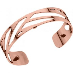 Les Georgettes Bracelet Ruban Or rose Small