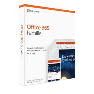 Office 365 Famille - 6GQ-00998 [Windows]