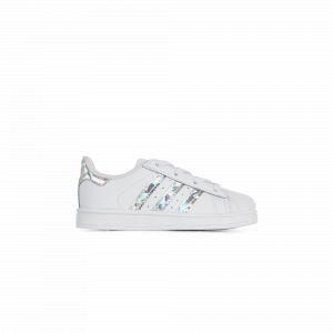 Adidas Superstar Hologram Originals Blanc/argent 23 Enfant