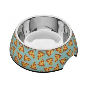 Fuzzyard Gamelle Pizza Lyf L - 16,5 x 7,5 cm - Pour chien