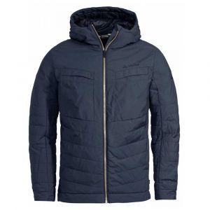 Vaude Men's Mineo Padded Jacket Veste Isolante matelassée pour la Vie Moderne de Tous Les Jours # Chaude # Fabrication écologique Homme, Eclipse, FR : L (Taille Fabricant : L)