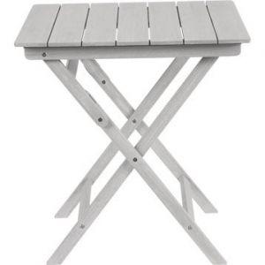 Naterial Table de jardin Portofino carrée gris 2 personnes