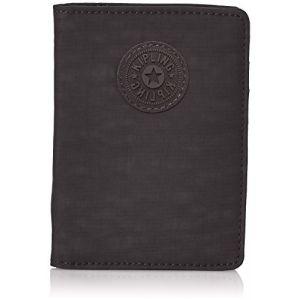 Kipling PASS PORT Portefeuille passeport, 14 cm, 0.01 liters, Noir (True Black)
