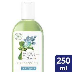 Dove Pouvoir des Plantes Huile de Douche Femme Eucalyptus 250ml