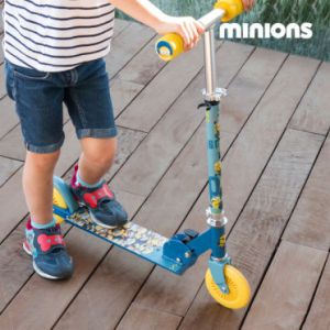 Patinette 2 roues Minions