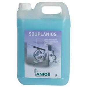 Anios Pro Désinfectant Assouplissant du Linge Souplanios 5L