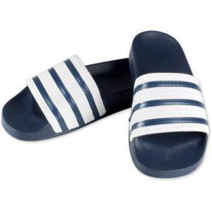 Adidas Adilette, Sneakers Basses homme - Bleu (Adiblue/Adiblue/White) - 48.5 EU (13 UK)