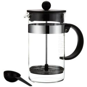 Bodum 1578-01 - Cafetière à piston Bistro Nouveau (8 tasses)