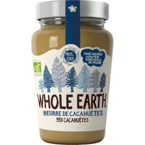 Whole Earth Beurre cacahuètes smooth