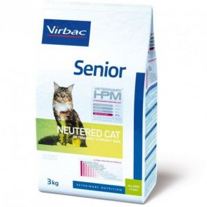 Virbac Senior Cat Neutered - Sac 3 kg