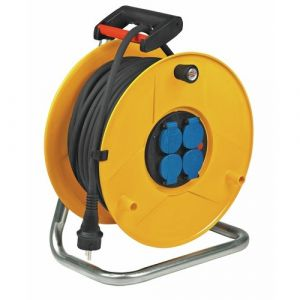 Brennenstuhl 1206941 - Enrouleur standard pro 25m H07RN-F 3G2,5