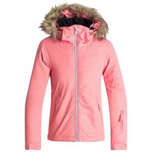 Roxy Jet Ski Embossed - Veste de Snow - Fille 8-16 Ans - Rose