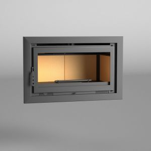 Fm IT-100 - Insert de cheminée 14,5 kw à chaleur ventilée