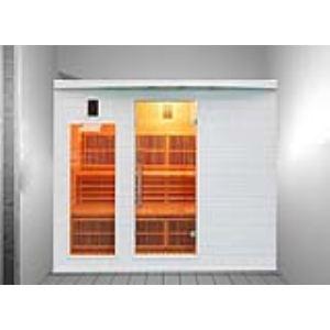France Sauna Soleil Blanc 5 - Sauna cabine à infrarouge pour 5 personnes
