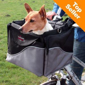 Trixie Panier pour vélo en nylon (chien jusqu'à 7 kg)