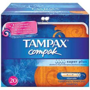 Tampax Compak super plus - 22 tampons