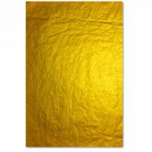 Clairefontaine Papier de soie 8 feuilles 50 x 75cm or