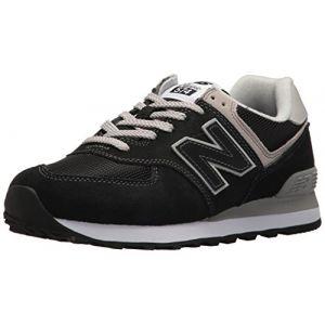 New Balance WL574EB, Baskets, Femme, Noir (Black), 36 EU