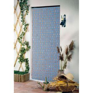 Morel E511 - Rideau de porte en perle olives (90 x 200 cm)
