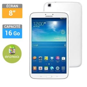 "Samsung Galaxy Tab 3 8"" 16 Go - Tablette tactile sous Android 4.2"