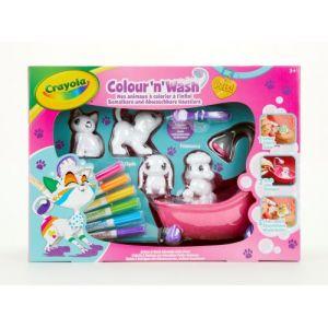 Vivid Color'N'Wash Pets animaux à colorier