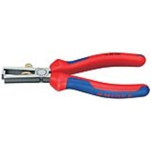 Knipex 11 02 160 - Pince à dénuder avec gaine bimatière 160 mm