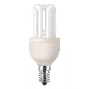 Philips 929689433308 - Ampoule Fluo-compacte Stick Culot E14 8 Watts consommés (Equivalence incandescence 40W)