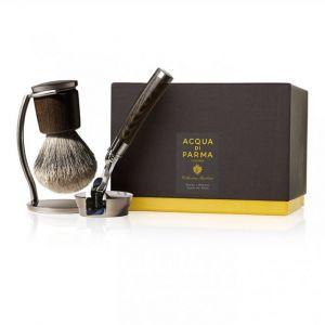 Acqua Di Parma Collection Barbière - Set de rasage : blaireau et rasoir Fusion