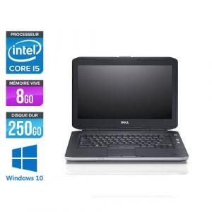 Dell Latitude E5430 - 14'' - Intel Core i5 3320M / 2.60 GHz - RAM 8 Go - HDD 250 Go - DVD - HDMI - Gigabit Ethernet - Wifi - Windows 10 Professionnel