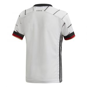 Adidas DFB H Mini Ensemble de Football Mixte Enfant, Top:White/Black Bottom:Black, FR : XS
