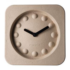 Image de Zuiver Pulp Time - Horloge carrée en papier mâché 36 cm