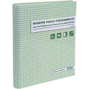 Exacompta Registre Public d'Accessibilité (ERP)
