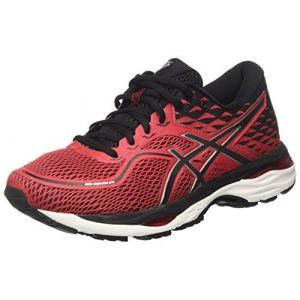 Asics Gel-Cumulus 19, Chaussures de Gymnastique Homme, Rouge (Prime Red/Black/Silver), 40 EU