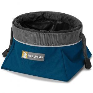 Ruffwear Gamelle de voyage pour chien Quencher Cinch Top Blue Moon Taille : L
