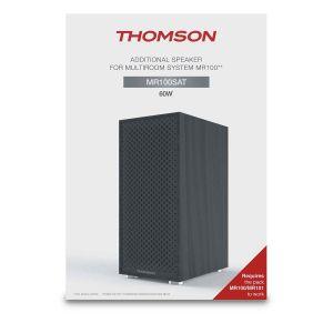 Thomson MR100SAT - Enceinte pour Multiroom MR100 / MR101 noire