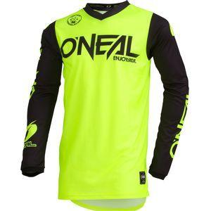 O'neal Maillot cross Threat Rider jaune fluo - XL