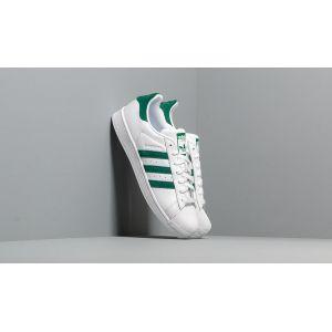 Adidas Superstar, Chaussures de Gymnastique Homme, Blanc Collegiate Green/FTWR White, 42 EU