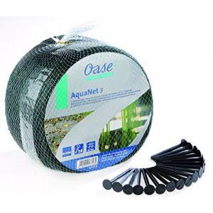 Oase Aquanet Filet de protection 6 x 10 m avec 18 piquets