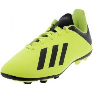Adidas Chaussures de foot Crampons moulés rugby enfant - X 18.4 FxG J - Noir - Taille 30,35,38 2/3