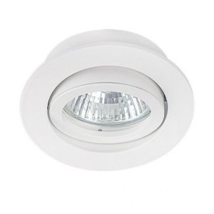 Kanlux Support de spot rond orientable 82mm - Blanc