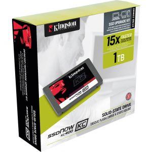 """Kingston SKC400S3B7A/1T - Disque SSDNow KC400 1 To 2.5"""" SATA III Upgrade Bundle Kit"""