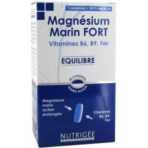Nutrigée Magnésium marin fort - 60 comprimés