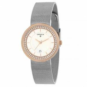 Orphelia 12508 - Montre Femme - Quartz - Analogique - Bracelet Acier inoxydable Argent