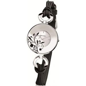 Pierre Lannier 075H - Montre pour femme bracelet en cuir Flowers